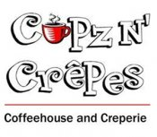 Logo for Cupz N' Crepes