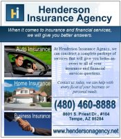 Logo for Henderson Insurance Agency