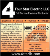 Logo for 4 Star Electric LLC
