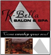 Logo for K-Bella Salon and Spa