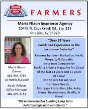 Logo for Farmers Insurance Group--Maria Nixon Insurance Agency