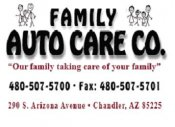 Logo for Family Auto Care
