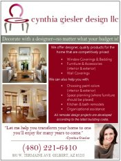 Logo for Cynthia Giesler Design LLC