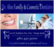 Logo for Dr. Ahn Family & Cosmetic Dentistry