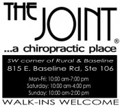 Logo for The Joint Chiropractic