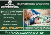 Logo for Panda Carpet & Tile Cleaning