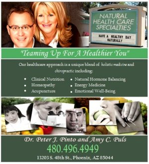 Featured image for Natural Healthcare Specialties