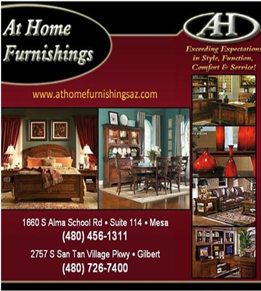Logo for At Home Furnishings