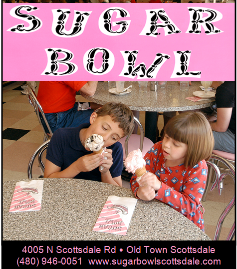 Logo for Sugar Bowl Ice Cream Parlor & Restaurant