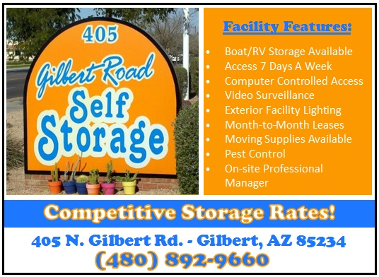 Logo for Gilbert Road Self Storage