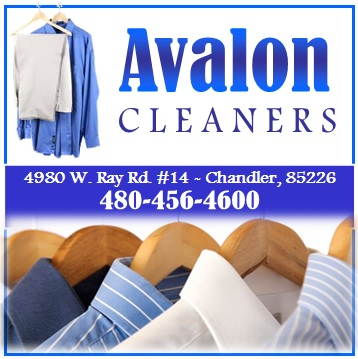 Logo for Avalon Cleaners