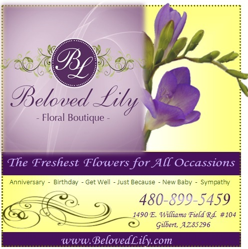 Logo for Beloved Lily